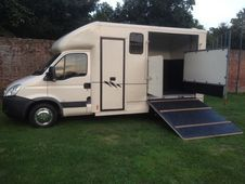 Iveco daily horse box