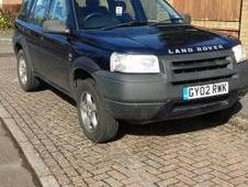 Land Rover Freelander Td4 Gs, Blue, 2002, Land Rover, Freelander,...