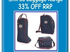 SALE!!  Shires Team Luggage Range  33% Off RRP!! - Leicestershire