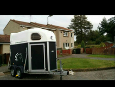 cheval double horse trailer