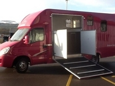 Brand new unused hanson busby duo horsebox