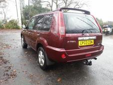 Nissan X-trail Sport Dci, Red, 2004, Nissan, X-trail, Red, 2004, ...