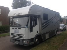 7.5 ton ford iveco horsebox for sale
