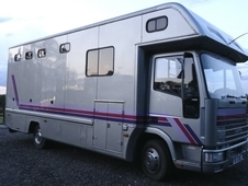 **sold** 7. 5t 3 Stall Iveco 33, 250km Full Living