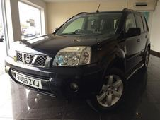 Nissan X-trail 2. 2 dci Columbia 5dr Sat Nav+sunroof, Black, 2006...