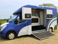 Not to be missed Owens Stallion 3.5t horsebox in build now ready to drive away in July!