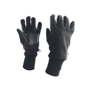Dublin - Everyday Polar Fleece Waterproof Gloves - Black