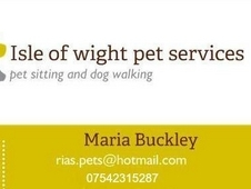 Isle Of Wight Pet Services
