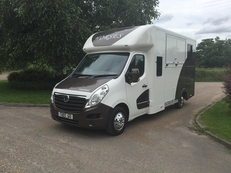 Vauxhall Movano 2 Stall Crew Cab for sale £19,995