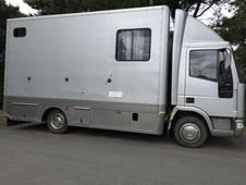 Compact Ford IVECO 75E17 reg 2002 stalled for 3 with automated ramp