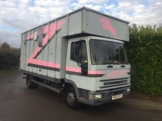 M Reg Iveco 75E15 3 Stall With Living and 12 months mot for sale £3,495