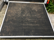 IFOR WILLIAMS HB506 REAR RAMP IN BLACK FITTED WITH HIGH GRIP RUBB...