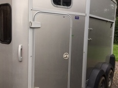 Ifor Williams HB506 trailer