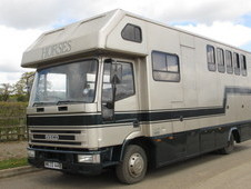For sale 7.5 ton Horsebox,Iveco Eurocargo 75E15 Coach built by PRB. Stalled for 4 + Carriage. Smart day living