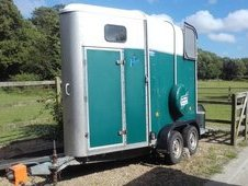 Ifor Williams HB405 Single Trailer