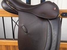 "Jeffries Working Hunter Show Saddle 17"" Medium"