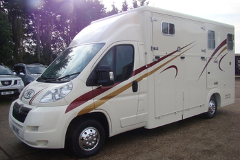 2010 Citroen Relay with Thorpe Duo 2 stall 3.5 ton