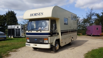 Ford Horseboxes For Sale In Eastern Horsemart