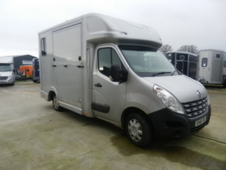 Quigley 3. 5 ton long stall horsebox available for long term hire...
