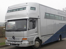 Beautiful 8. 6 ton Mercedes Benz Lehel Virage. Stalled for 3 with...