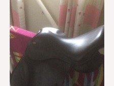 Black Kent and masters saddle