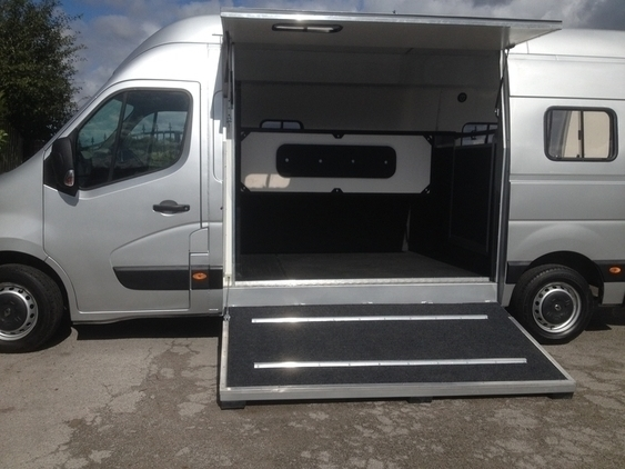 QUALITY 3.5 ton new conversion 2013 model (built in sat nav)Ready Now!!!