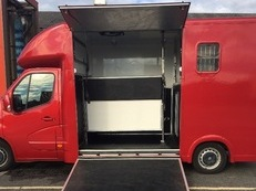 3.5t Horsebox for self drive hire