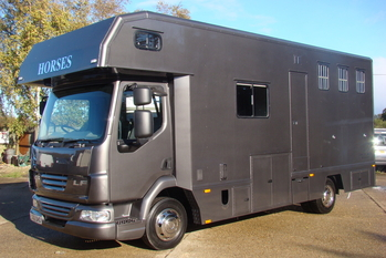2010 DAF LF Thorpe Thoroughbred 3 stall