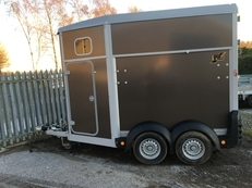NEW IFOR WILLIAMS 506 2 HORSE TRAILER