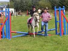 Fantastic lead rein pony club champion