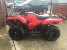 Honda atv ex demo