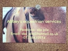 ! Abbeys equestrian services!