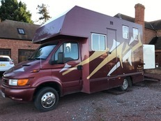 Now Sold!!  Very Smart 5.2 Ton Thorpe Prospect II Ford Iveco Horse Box
