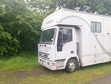 7. 5 Iveco horsebox for sale N reg