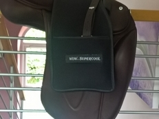 Brown WOW dressage saddle - like new