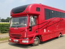 2006 Iveco Eurocargo Coach built by KM Horseboxes. Stalled for 3 ...