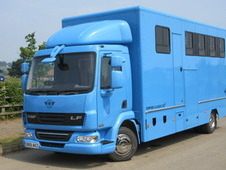 2009 59 DAF LF 12 ton Professional Empire Transport truck. Stalle...