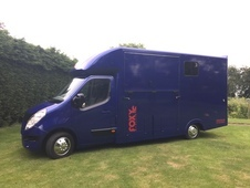 3. 5t new build FOXY STALLION HORSRBOX 50k miles