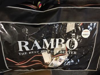 6 ft 9 Rambo Optimo Turnout Rug Light / Medium/ Heavy with Detachable Hood and 3x Liners