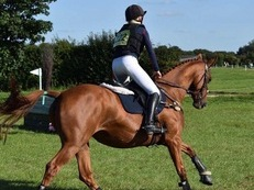 Stunning young eventer