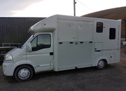 3.5 horsebox with seperate living