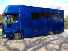 Iveco Eurocargo 7. 5T Horsebox With Luxury Living