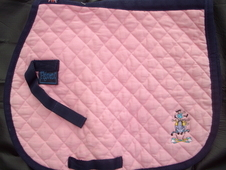 Pink Filament Saddle Cloth (Pony)