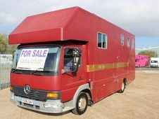 2001 Mercedes 7. 5t 3 stall