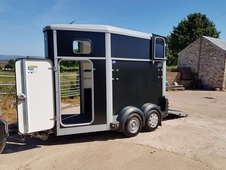 Ifor Williams HB406 Single Trailer - registered 2014