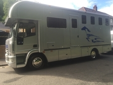 2005 IVECO 4 STABLE HORSEBOX WITH LIVING ACCOMMODATION VERY LOW M...