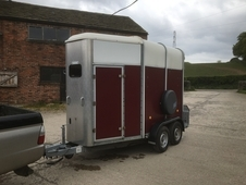 505 Ifor Williams trailer with quality wheel and hitch locks