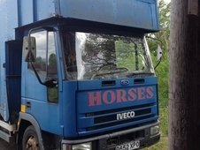 For Sale R Reg Iveco 7. 5 tonne horsebox