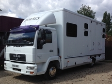 Sovereign Horsebox - MAN 2004 Reg