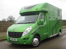 2014 Renault Master GP Long stall. New Build. 50,000 miles.